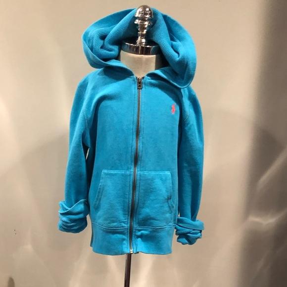 Ralph Lauren Other - RL fleece hoodie sz 8-10
